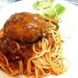 ハンバーグスパゲティ