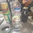 朝ビール。