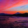 『照ヶ崎海岸』 夕焼け