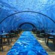 世界最大の海底レストラン、料理と味わう絶景。モルディブ