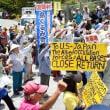 <高江>北部訓練場メインゲート前集会。闘いの継続を誓う。/ 8月中旬東京 防衛省交渉・市民集会開催へ
