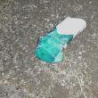 幻日現る。たばこの空箱1個、収集 レジ袋でゴミ拾い&街美化と安全パトロール