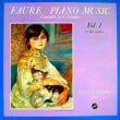 ◇クラシック音楽LP◇イヴリン・クロシェのフォーレ:舟歌全曲(第1曲~第13曲)