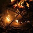 焚火の防炎対策