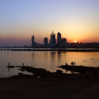 Sunset of Qingdao☆中国の街角から