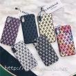 イッセイミヤケ(Issey Miyake)iphoneX ケース 鮮やか おしゃれ 大胆な三角ピース設計の三宅一生 携帯カバー 個性