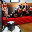今治市菊間町のかわら館では早くもひな祭りが始まっています