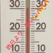 暑かった・・