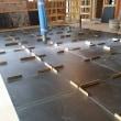 室内用床タイル600角施工中です!仕上がりが楽しみです(^ー^)