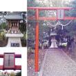 048足利市福居町の母衣輪神社の庚申塔(最寄り:福居駅)