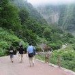 称名滝からの帰り道