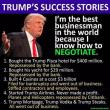 Trump's success story