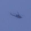 12月7日。午前12時34分  県警航空隊はくちょう 低空飛行