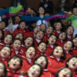 北朝鮮美女応援団(2月10日)(2)(2月12日更新)
