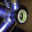 クロモリロードバイクのBB(カップ&コーンタイプ)をホローテックⅡに交換