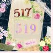 今日の数字 ☆ 517  ☆ 519