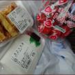 足湯と絵を売る車<旅犬正ちゃんの南九州の旅(9)>