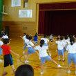 「のじた踊り」練習中