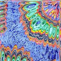 アクリル実験499 抽象449