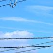 10/18 天気がずっと悪かったからちょっとの青空で
