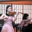 第38回かやぶき倶楽部鈴木舞ヴァイオリンリサイタル終了致しました。