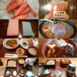 [いろいろな食い物+スポンジ]