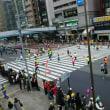 東京マラソンなう