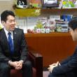 箕面市倉田市長とお話してまいりました
