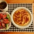 林檎のホットケーキ
