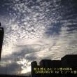№151 秋を感じるヒツジ雲