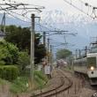 《鉄道写真》189系N102編成「あずさ80号」の送り込み回送列車