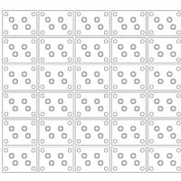 1枚の整列治具に、同時に2種類の 部品を流して、整列させる事が可能か?