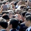 安倍首相の「桜を見る会」 新宿御苑で開催
