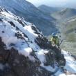 今シーズン最初の雪山 八ヶ岳中山尾根
