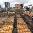 中村区並木の共同住宅4階床配筋検査