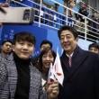 韓国でも安倍総理「大人気」