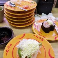 買い物と寿司