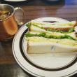 玉子野菜ハムサンド☆