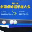 第53回全国卓球選手権大会(年代の部)
