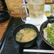 「居酒屋「駅前」!!「ねぎブリ丼」!!
