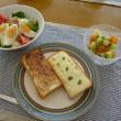 具たくさんサラダDE朝ごパン~♪