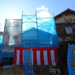 竹見台自治会館構造見学会‼ 晴れました‼