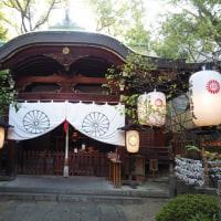 浪速史跡めぐり』堀越神社は、大阪市天王寺区茶臼山町にある神社。聖徳太子が四天王寺を創建した際、崇峻天皇を祭神