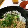 すき家 牛丼と鶏そぼろ丼