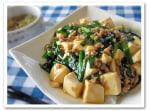 オイスターソースで~ニラ豆腐