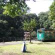 行楽シーズン到来の多摩動物公園