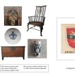 ヨーロッパの紋章と古民藝展atギャラリーブリキ星