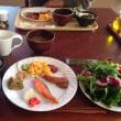 清泉寮の朝食