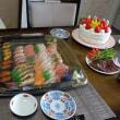 キー坊の1歳誕生祝いはジィーのお家でした!(^^)!
