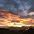龍雲⁈夕焼け雲に思う